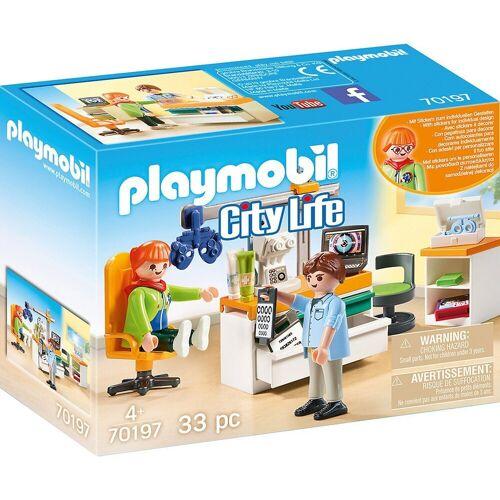 Playmobil Konstruktions-Spielset »70197 Beim Facharzt: Augenarzt«
