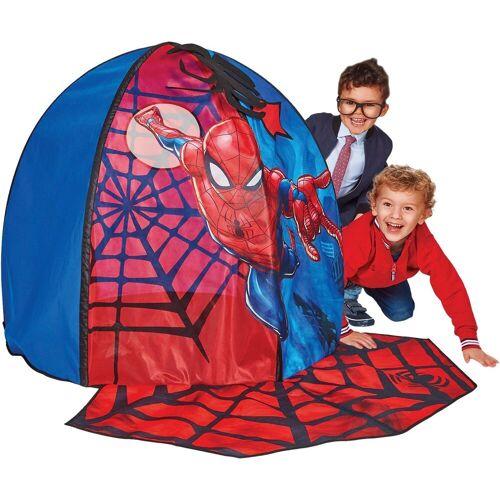 Apart WORLDS APART Spielzelt, Spiderman, mit Türmatte, rot, rot