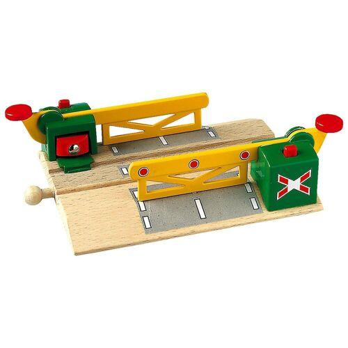 Brio Spielzeug-Eisenbahn »Magnetische Kreuzung mit Schranken«