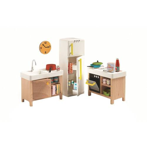 DJECO »Puppenhaus - Küche« Puppenhausmöbel