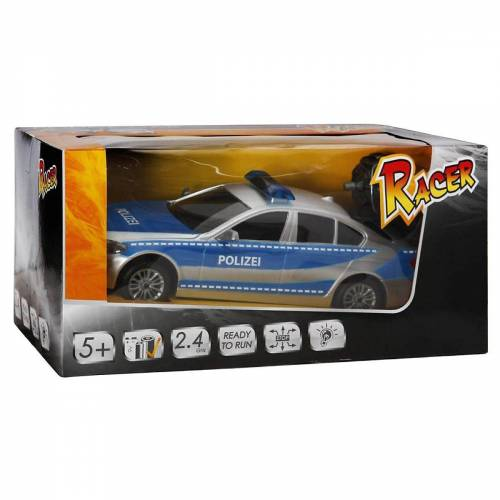 THE TOY COMPANY® Spielzeug-Auto »RC Racer Polizeiwagen mit Licht, 2.4GHZ«