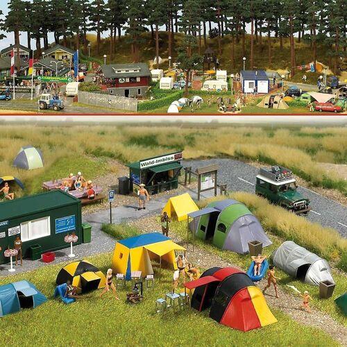 Busch Modelleisenbahn-Set »Camping-Platz H0«