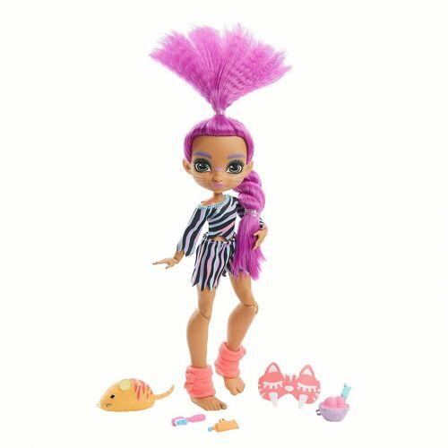 Mattel Anziehpuppe »Cave Club Pyjamapartyspaß Roaralai Puppe«