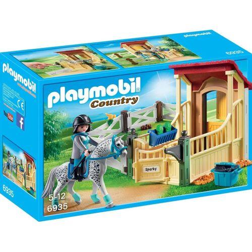 Playmobil Konstruktions-Spielset »Pferdebox Appaloosa (6935), Country«, Made in Germany