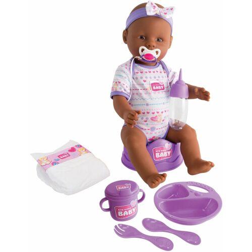 SIMBA Babypuppe »New Born Baby, Ethnische Puppe« (1-tlg)