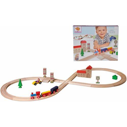 Eichhorn Spielzeug-Eisenbahn »Achterbahn, 35-tlg.«, (Set, 35-tlg), aus Holz