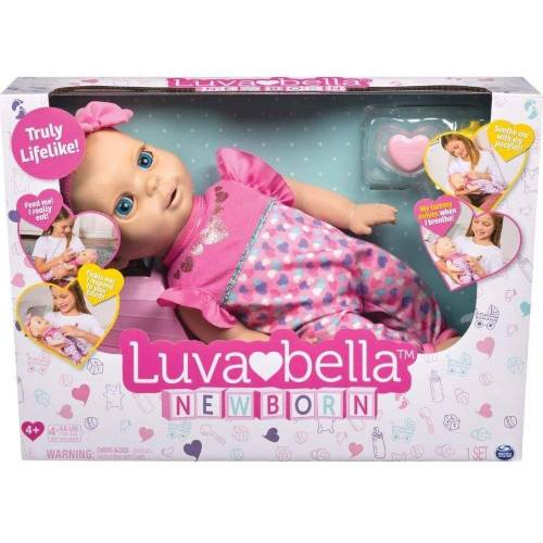 Spin Master Babypuppe »6047317 - Luvabella - interaktive Baby Puppe (43 cm)«