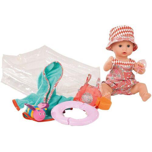 GÖTZ Babypuppe »Aquini mit Schlafaugen und Bade-Set, 33cm«