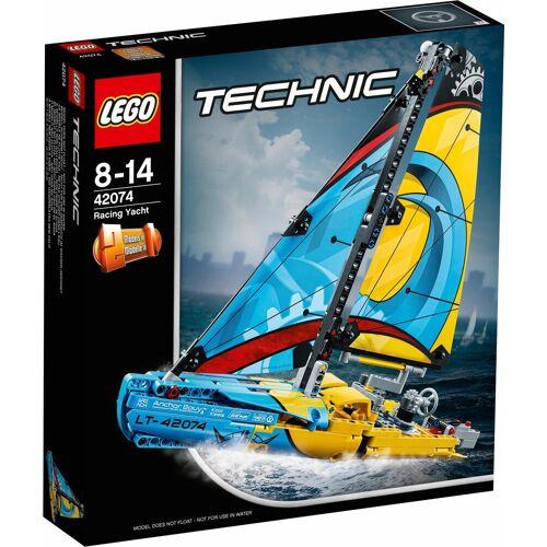 Lego Konstruktionsspielsteine »Rennyacht (42074), Technic«, (330 tlg), bunt