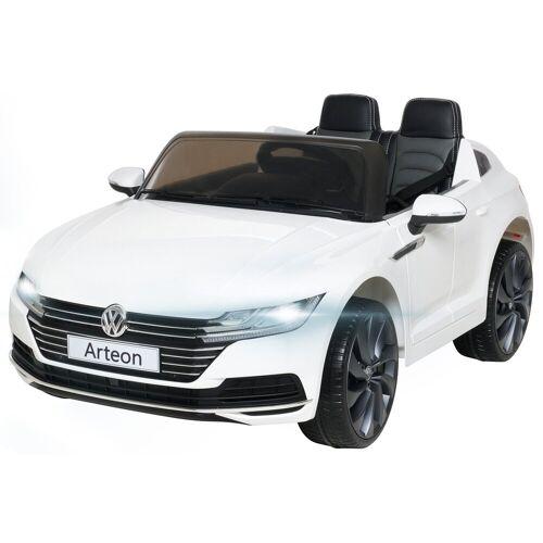 Actionbikes Motors Spielzeug-Auto »Kinder Elektroauto VW Arteon«, für 2 Kinder - inkl. Fernbedienung, Weiß