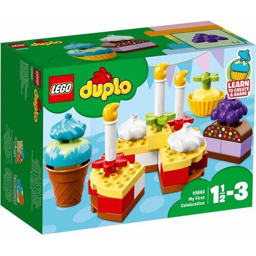 Lego Spielbausteine »Meine erste Geburtstagsfeier (10862), DUPLO®«, (41 St), bunt