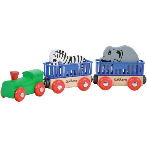 Eichhorn Spielzeug-Eisenbahn »Bahn, Tierzug, 5-tlg.«