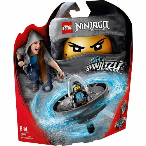 Lego 70634 Ninjago: Spinjitzu-Meisterin Nya