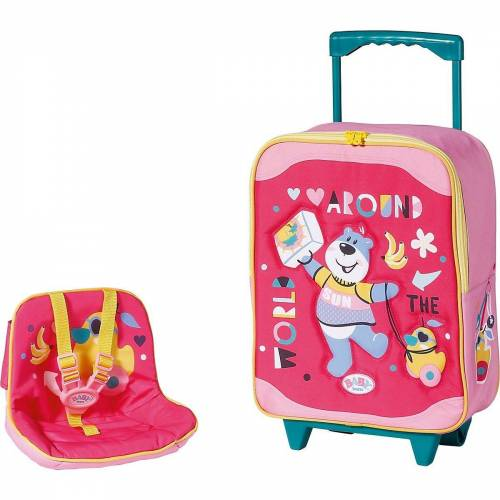 Zapf Creation® Puppen Accessoires-Set »BABY born Holiday Trolley mit Puppensitz«