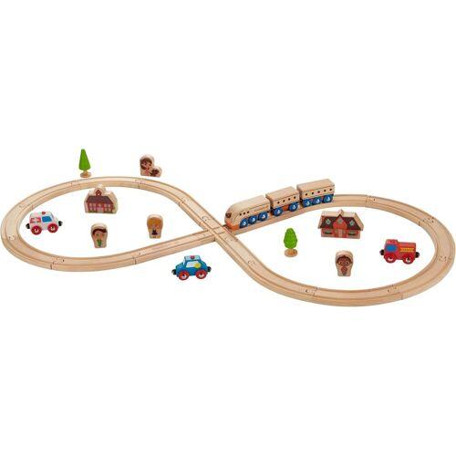 EverEarth® Spielzeug-Eisenbahn »Eisenbahn-Set«, (Set, 32-tlg)