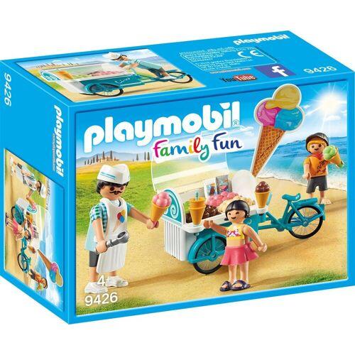 Playmobil Konstruktions-Spielset »Fahrrad mit Eiswagen (9426), Family Fun«