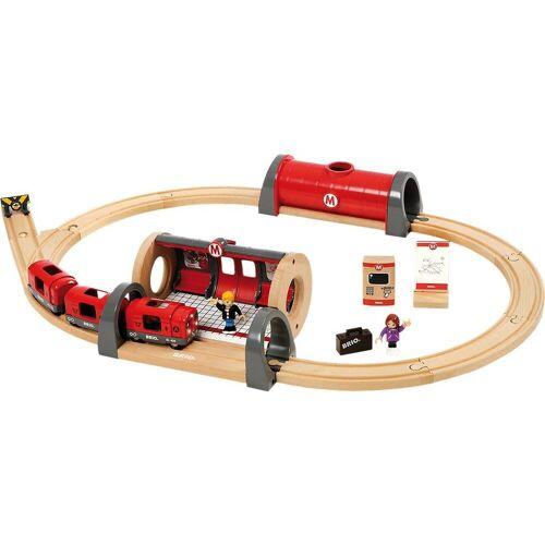 Brio Spielzeugeisenbahn-Set »Metro Bahn Set«