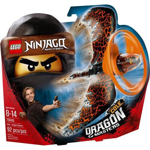 Lego Drachenmeister Cole (70645), »NINJAGO®«, grau