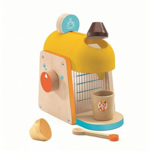 DJECO Spielgeschirr »Rollenspiel Kinderküche - Espressomaschine«