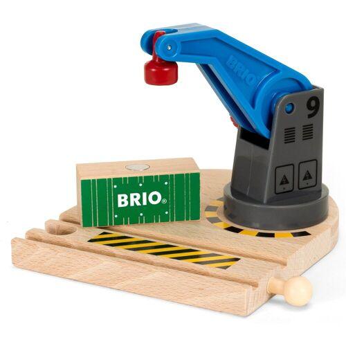 Brio Spielzeugeisenbahn-Erweiterung »WORLD Eisenbahn-Magnetkran«