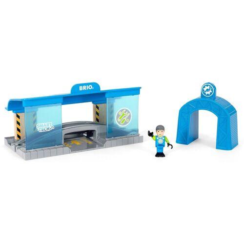 Brio Spielzeugeisenbahn-Gebäude »WORLD Smart Tech Eisenbahn-Werkstatt«