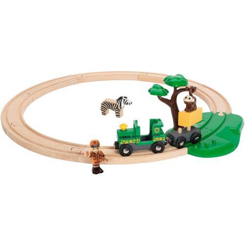 Brio Spielzeug-Eisenbahn »WORLD Safari Bahn Set«, (Set)