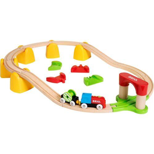 Brio Spielzeug-Eisenbahn »Mein erstes Bahn Set mit Batterielok«, (Set)