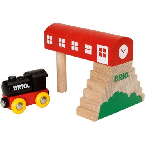 Brio Spielzeugeisenbahn-Gebäude »Classic Bahnhof«