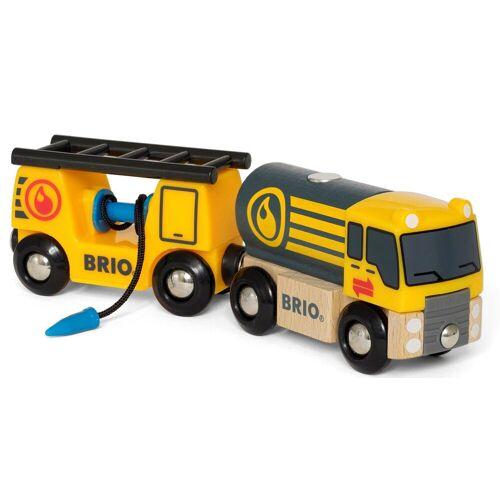 Brio Spielzeug-LKW »WORLD Tankwagen mit Anhänger«, für Spielzeugeisenbahn