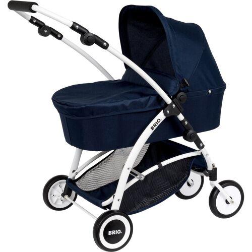 Brio Puppenwagen »Spin, blau«, mit Schwenkrädern