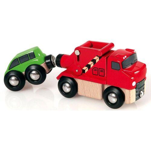 Brio Spielzeug-Eisenbahn »WORLD Abschleppwagen mit Auto«
