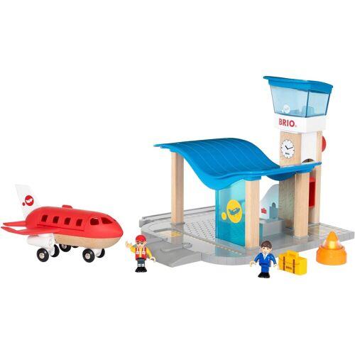 Brio Spielzeugeisenbahn-Gebäude »WORLD Flughafen mit Tower«
