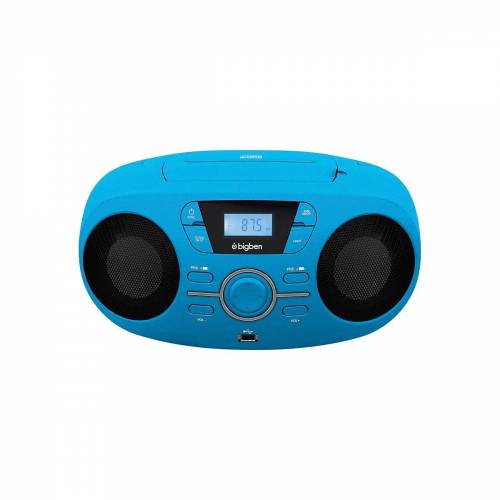 BigBen »Tragbares CD/Radio CD61 USB, blau« CD-Player