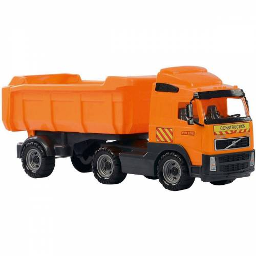 WADER QUALITY TOYS Spielzeug-Auto »VOLVO Truck mit Sattelschlepper«