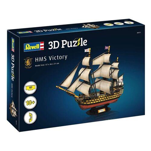 Revell® 3D-Puzzle »Revell 00171 - 3D Puzzle, Flaggschiff HMS Victory«, 189 Puzzleteile