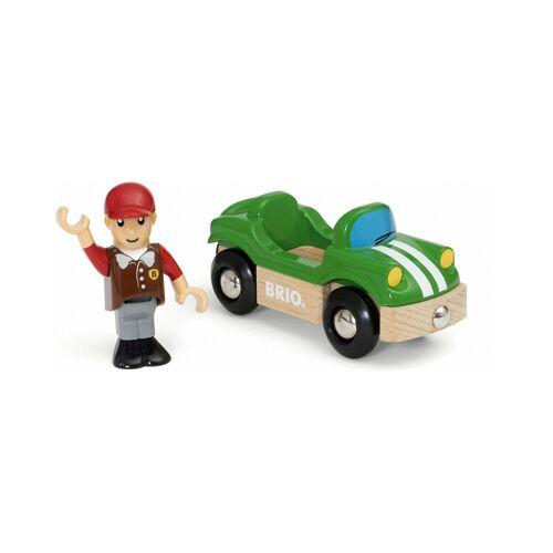 Brio Sportwagen mit Fahrer