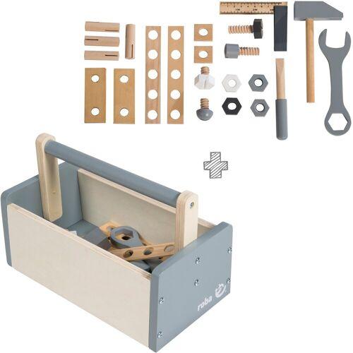 Roba® Spielwerkzeug »Werkzeugkiste«, (Set, 22-tlg)
