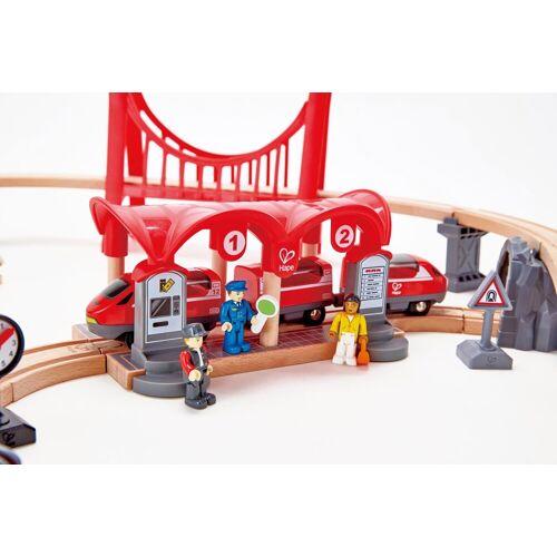 Hape Spielzeugeisenbahn-Gebäude »Eisenbahn-Set - Verkehrsreiche Stadt«