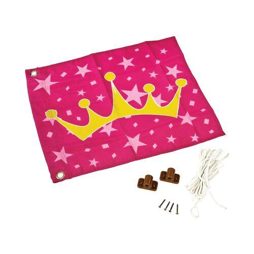 Fahne zum hissen, Prinzessin, rosa