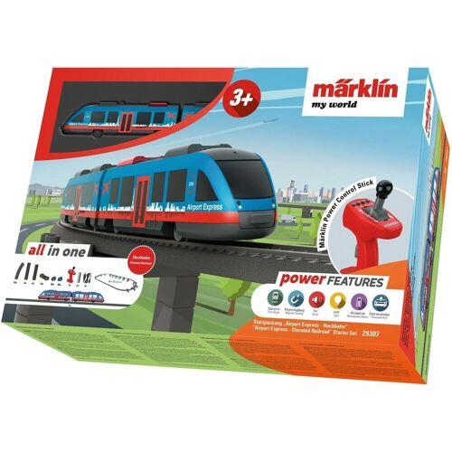 Märklin Modelleisenbahn-Set »my world - Airport Express Hochbahn - 29307«, Spur H0, für Einsteiger