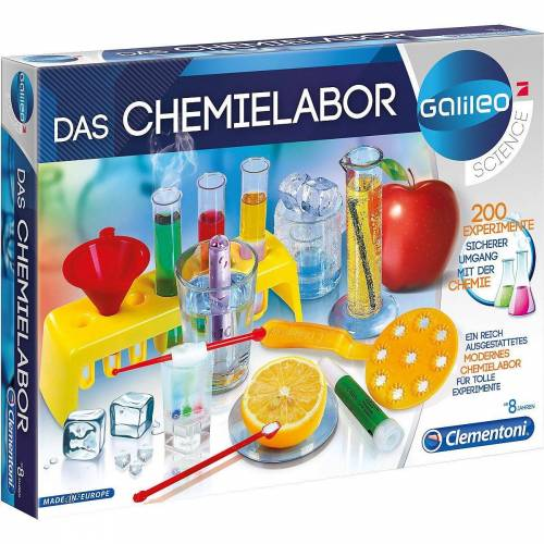 Clementoni® Lernspielzeug »Galileo - Das Chemielabor«