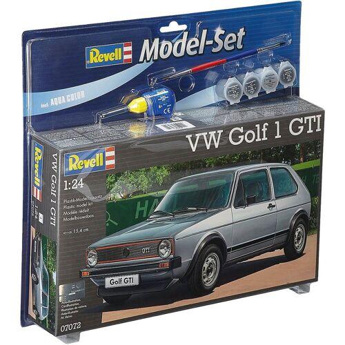 Revell® Modellbausatz »Revell Modellbausatz - Model Set VW Golf 1 GTI«