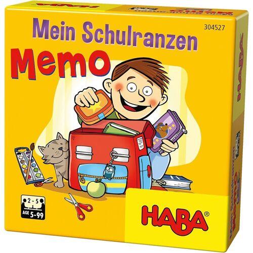 Haba Spiel, »304527 Mein Schulranzen-Memo«