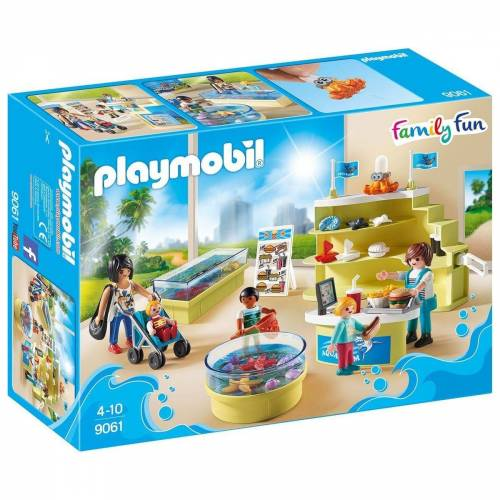 Playmobil Spielwelt »9061 - Family Fun - Aquarium- Shop«