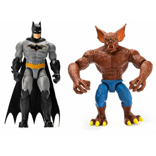 Spin Master Actionfigur »Batman - 10cm 2-Pack Batman & Man Bat«