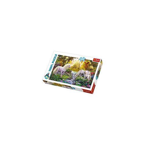 Trefl Puzzle »Puzzle 100 - Geheimer Einhorngarten«, Puzzleteile