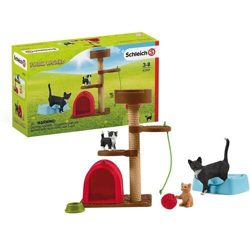 Schleich® Sammelfigur »Schleich 42501 Spielspaß für niedliche Katzen«