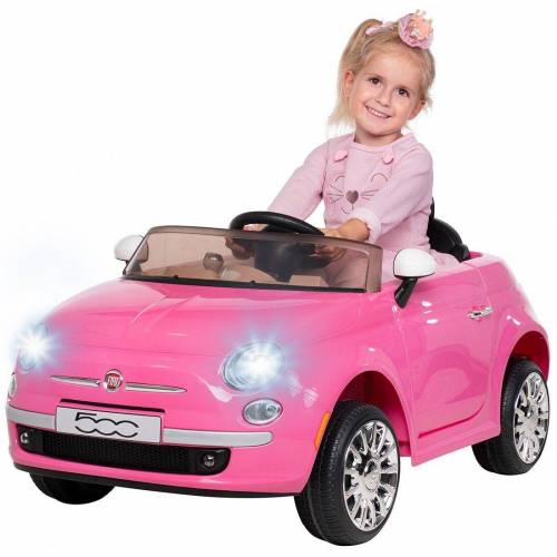 Actionbikes Motors Spielzeug-Auto »Kinder Elektroauto Fiat 500«, inkl. Fernbedienung