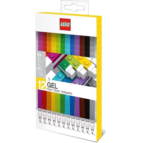 Lego Dekorierstift »Gelstifte LEGO, 12 Farben«