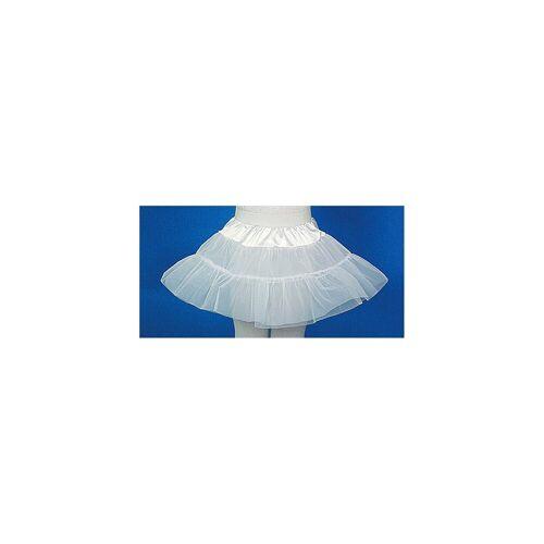 Petticoat, weiß f. Kinder